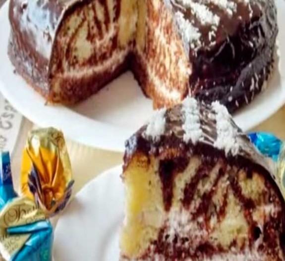 как приготовить торт зебра пошаговый рецепт с фотографиями