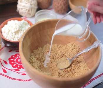 пошаговый рецепт творожного торта без выпечки с печеньем
