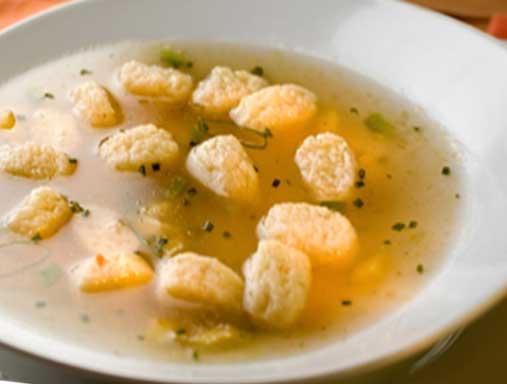 вкусный рецепт супа с клецками