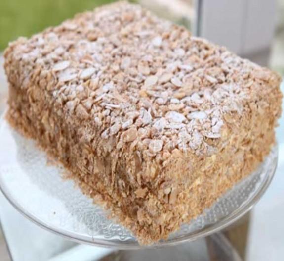 торт наполеон в домашних условиях простой рецепт с фото