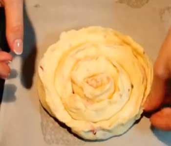 трубочка для торта зимняя вишня