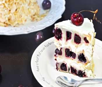 кусочек торта зимняя вишня