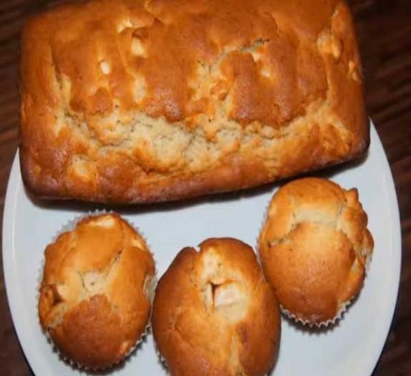 как приготовить пирог с яблоками и бананами в духовке