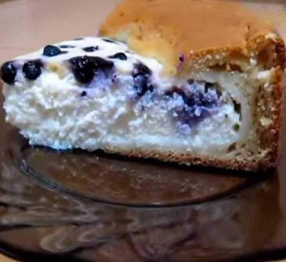 готовим творожный пирог с вишней рецепт с фото