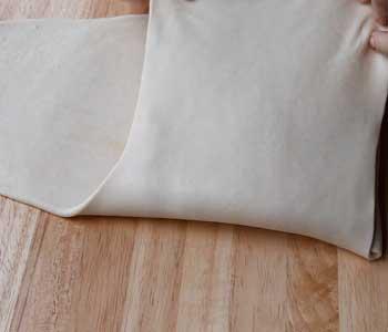 пошаговый рецепт пирога из слоеного теста с творогом