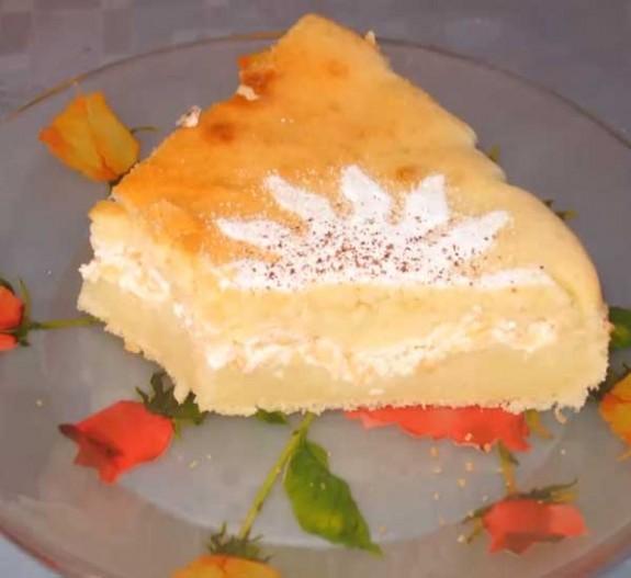 быстрый пирог в мультиварке на кефире с яблоками рецепт