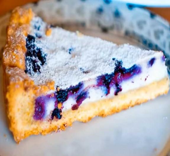 черничный пирог рецепт пошагово с фото