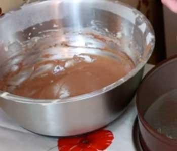 как сделать вкусный пирог зебра на кефире в духовке