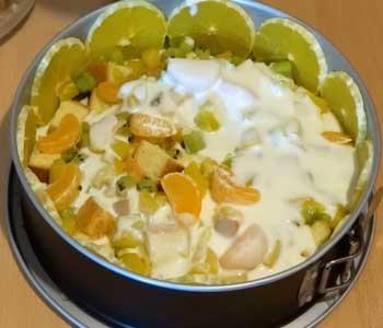 готовим самый вкусный бисквитный торт с фруктами и ягодами рецепт с фото пошагово