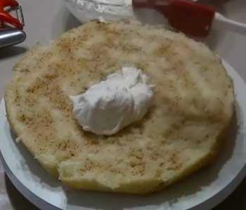 быстрый и легкий бисквитный торт рецепт со сгущенкой вареной