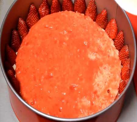пошаговый рецепт творожно вишневого торта