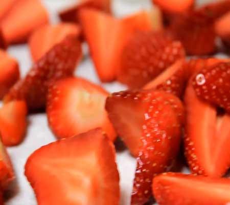 рецепт торта с творогом и фруктами